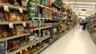 American Grocery Store Food Market Albertsons USA Supermarket Video Review