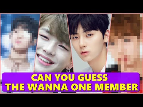 CAN YOU GUESS THE WANNA ONE MEMBER [워너원]