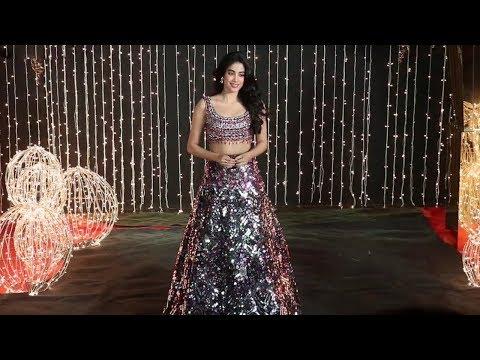 Janhvi Kapoor Looking Beautiful At Priyanka Chopra & Nick Jonas Wedding Reception