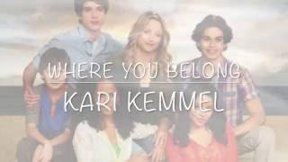 Kari Kemmel - Where You Belong (The Fosters Theme Song)