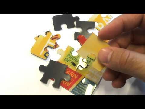 Pusslespil magneter