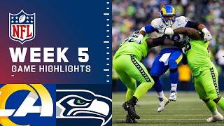 Rams vs. Seahawks Week 5 Highlights | NFL 2021