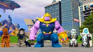 Lego marvel superheroes 2 how to unlock thanos dlc | How to