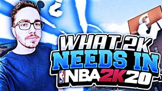 NBA 2K20 CAN BE THE BEST 2K OF ALL TIME! HOW?