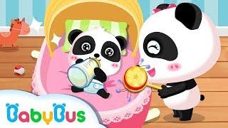 Miumiu panda chăm sóc em bé | Hoạt hình - ca nhạc thiếu nhi vui vui nhộn | BabyBus