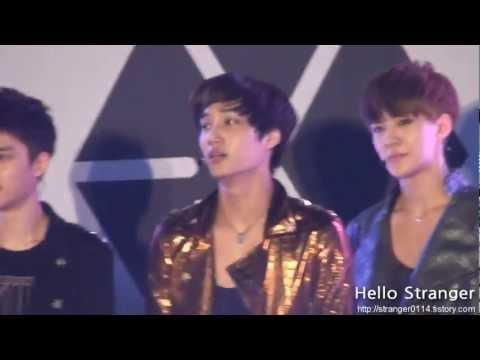 120602 Genie AR Show - EXO K MAMA Ver. KAI