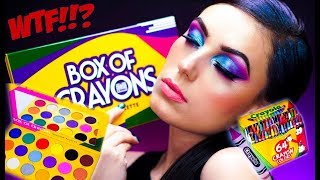 NEW! BOX OF CRAYONS Eyeshadow Palette | HIT or MISS? | The Crayon Case | Victoria Lyn Beauty