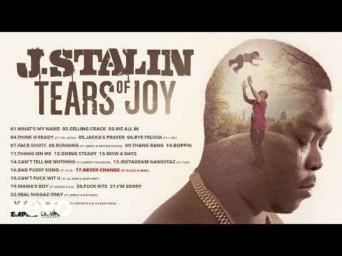 J. Stalin - Never Change (Audio) ft. B-Legit, 4rAx