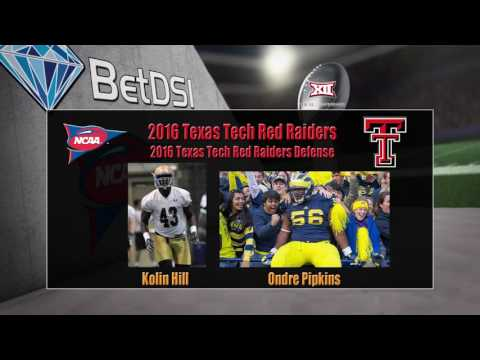 2016 NCAA Betting | Texas Tech Red Raiders Team Preview and Odds