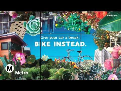 LA Metro Video Wall Mockup