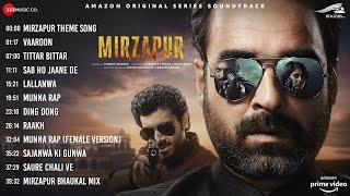 Mirzapur All Song Full Album Jukebox