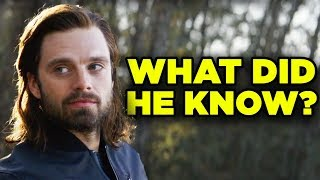 Avengers Endgame Theory: What Did BUCKY Know? | Total Conspiracy
