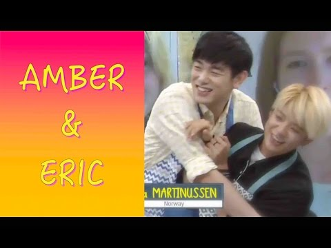 Amber Liu  f(x) and Eric Nam Sweet moments on After School Club 150804