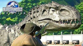 Jurassic World Evolution - Fim Do INDOMINUS REX!, NOVO PREDADOR No PARQUE | (#27) (PT-BR)