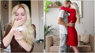 HOW I FOUND OUT I WAS PREGNANT! | Telling my husband and family!