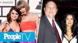 Selena Gomez Celebrates T. Swift's Birthday, Salma Hayek's Harvey Weinstein Allegations   PeopleTV