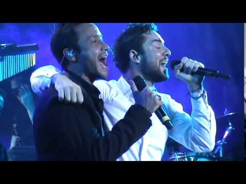 David Bisbal y Luciano Pereyra 08/12/14