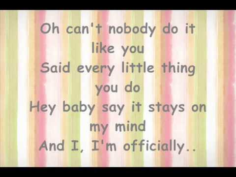 Officially Missing You -- Tamia -- plus lyrics
