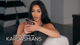Kim K. Reacts to Being Blocked by Tristan on IG: