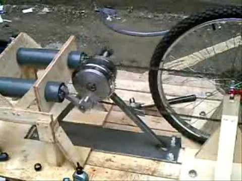 Pedal Powered Water Pump 2007 Youtube