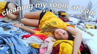 CLEANING MY MESSY ROOM AT 2AM | (VI) | maiphammy
