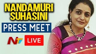 LIVE: Nandamuri Suhasini, daughter of Harikrishna..