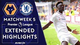Wolves v. Chelsea   PREMIER LEAGUE HIGHLIGHTS   9/14/19   NBC Sports