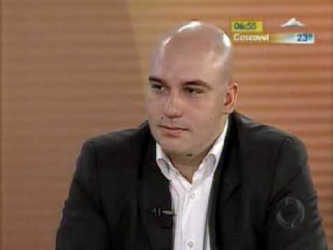 Medo de tirar férias - Entrevista Willian Mac-Cormick Maron - RPC - Bom Dia Paraná - 30/12/09