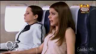 Violetta 1 - Violetta en el avión de camino a Buenos Aires (Capítulo 1)