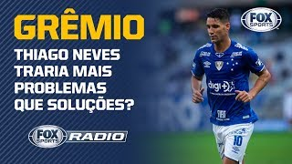 Silva Junior dispara contra possível contratação de Thiago Neves para o Grêmio