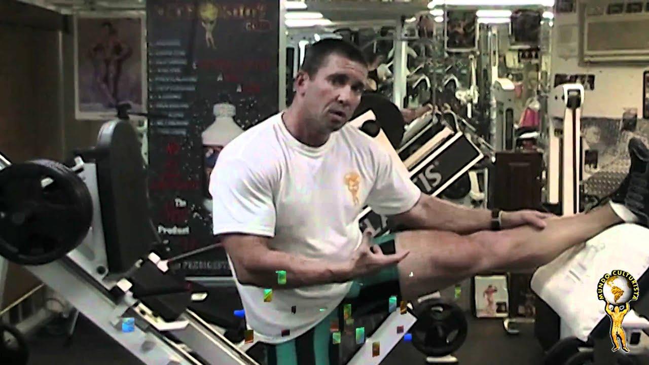 Roger Hernandez   Entrenamiento circunstancial de piernas. parte 1