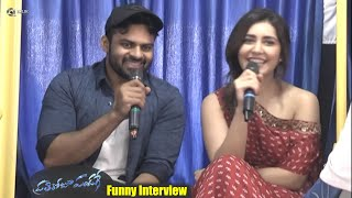 Sai Dharam Tej and Raashi Khanna Funny Interview about PrathiRoju Pandage Movie