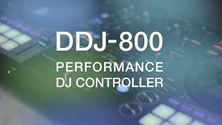 PIONEER DJ DDJ-800 in action