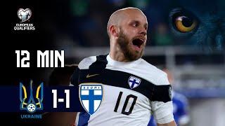 Full Highlights (12 min.) | Ukraina–Suomi 1–1 I FIFA World Cup 2022 -karsinnat I 28.3.2021