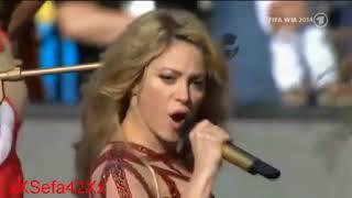 Shakira La La La World Cup 2014 closing Ceremony live Performance