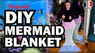 DIY Mermaid Blanket, Corinne VS Pin #25