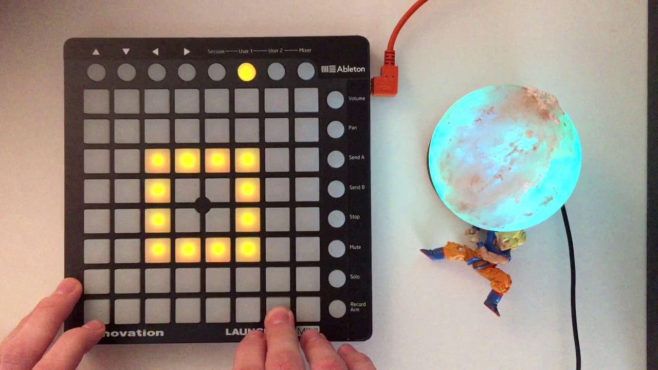 Project files for launchpad mini driver