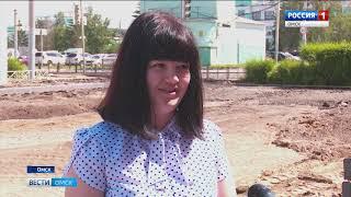 Почти пять миллионов рублей потратят на преображение территории вокруг 162 омской школы в Ленинском округе