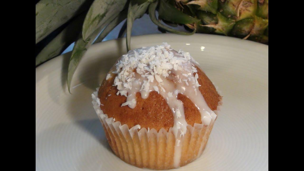 muffins backen rezept ananas kokos muffins einfach kochen kuchenrezepte youtube. Black Bedroom Furniture Sets. Home Design Ideas