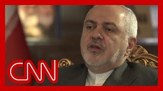 Iran Foreign Minister: US strike would trigger 'all out war'