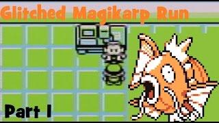 Pokemon Red/Blue - Glitched Magikarp Run (Part 1)