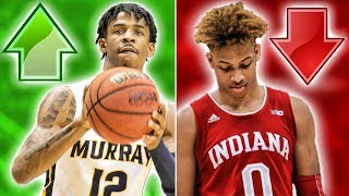 The Biggest Risers And A Fallers In The 2019 NBA Draft
