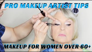 How to do Makeup on Women over 60 Makeup Tutorial - mathias4makeup