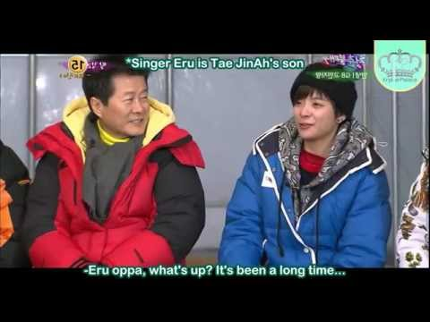 [KryberPalaceSubs] 120225 Tae JinAh wants f(x) Amber to be his daughter-in-law