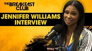 Jennifer Williams On Basketball Wives Reunion, Tami Roman, Shaunie O'Neal + More