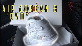 "Air Jordan 8 ""OVO"" 2018 Review - GOODCOP BADCOP"