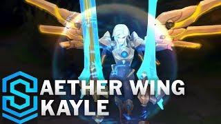 Aether Wing Kayle Skin Spotlight - Pre-Release - League of Legends