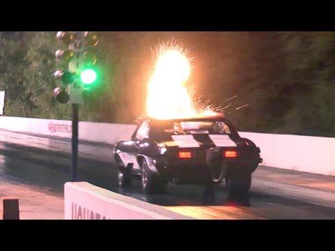 Drag Radial Cars - Testing at HMP