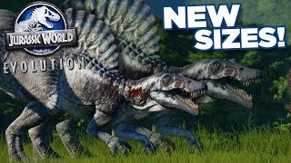 New Sizes Confirmed + Destroying The Island!!! - Jurassic World Evolution | Ep51 HD