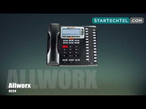 How To Park & Retrieve Calls On The Allworx 9224 Phone